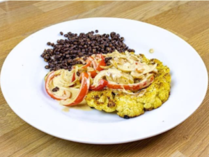 blog post images valentine's day 2021 dinner ideas Tequila cauliflower steaks
