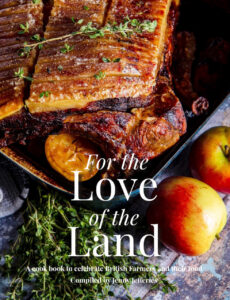 book cover for the love of the land by jenny jefferies Health and Wellness Gifts for Valentine's Day 2021