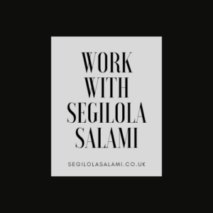 contact and work with segilola salami