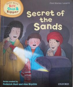 secret of the sands book cover podcast episode