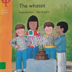 podcast book reading the whatsit oxford reading tree stage 5 book cover