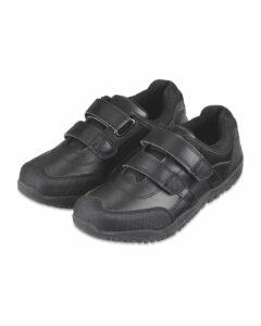Aldi leather school shoes